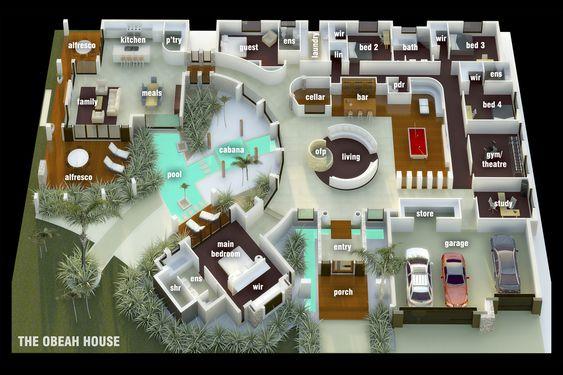 Image detail for 3d floor plan alive 3d dream house for Dream house 3d