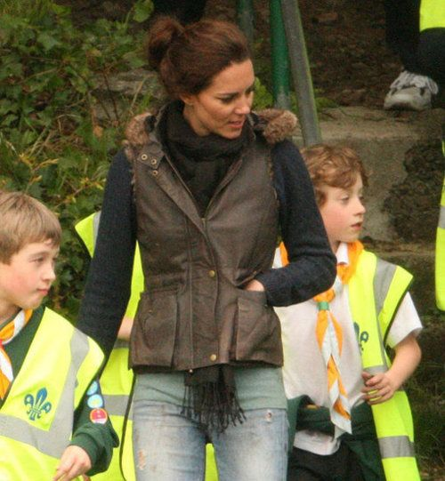 kate out and about.......