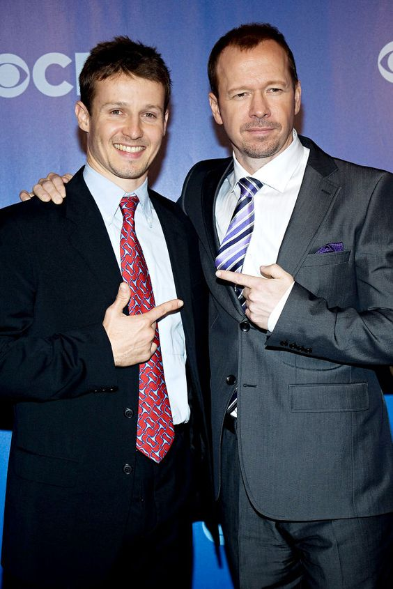 Will Estes & Donnie Wahlberg from Blue Bloods, love that show!!