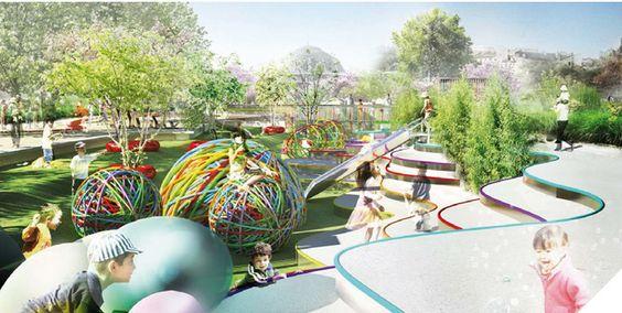 Paris Playgrounds à la Carte