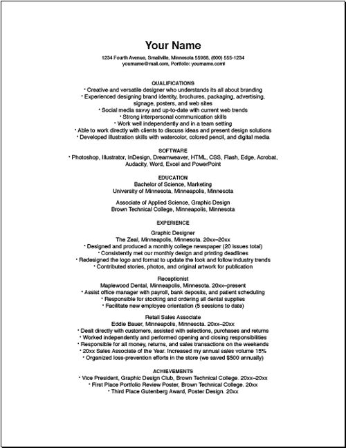 Bad Resume Samples resume example