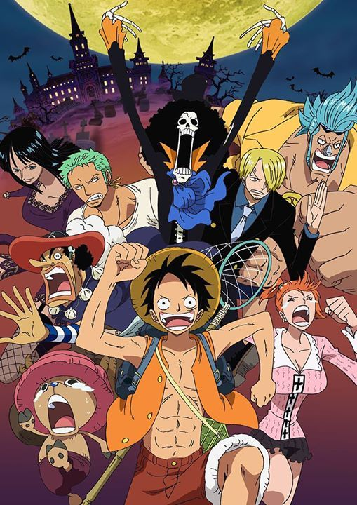 One Piece Sets Sail For Thriller Bark Funimation Has Acquired One Piece Anime One Piece Manga One Piece Luffy