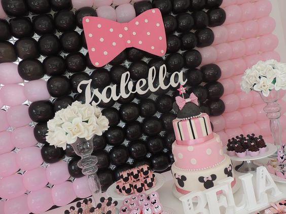 festa infantil provençal minnie rosa - Pesquisa Google