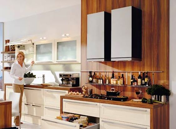 U Shaped Modular Kitchen Single Wall Modular Kitchen In Delhi Amusing Wardrobe Kitchen Designs Design Ideas