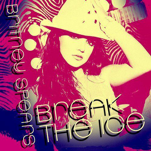 Britney Spears – Break the Ice (single cover art)