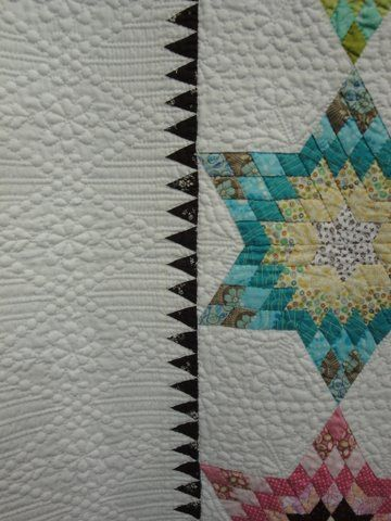 Star quilt...incredible quilting!: