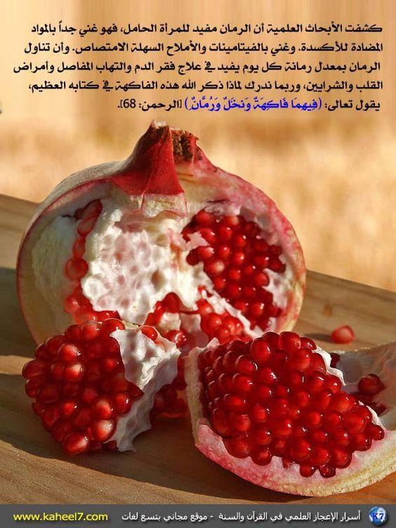 545: Recettes Préférées, Recettes Santé, De Grenade, Fruits, Healthy Food