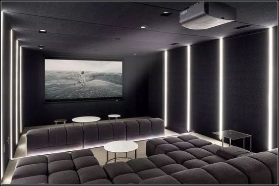 53 Awesome Home Theater Design Ideas Want To Have A Special Room To Watch Movie Home Theater De Home Cinema Room Home Theater Room Design Home Theater Rooms