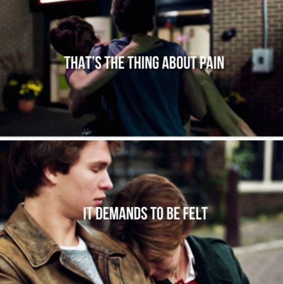 tfios fault in our stars and scene on pinterest