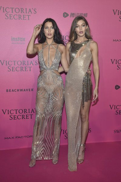 Bella Hadid and Gigi Hadid | After party of the Victoria's Secret Fashion Show 2016: