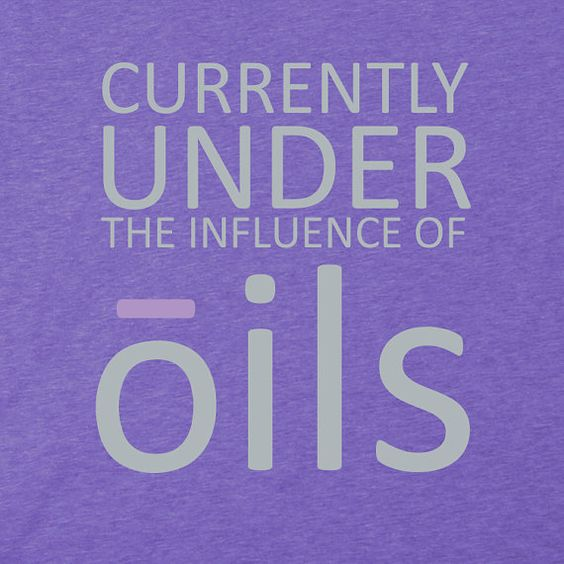 Under The Influence Of Oils Essential Oil T Shirt