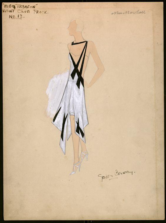 an original Gordon Conway design for the 1929 film High Treason