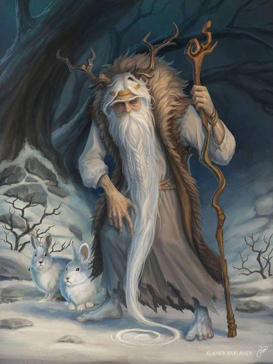 Ded Moroz by baklaher on DeviantArt