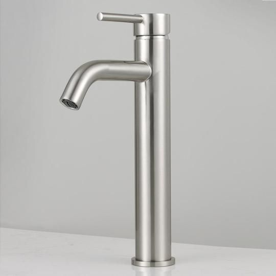 Benton Arched Spout Single Hole Vessel Faucet Vessel Faucets