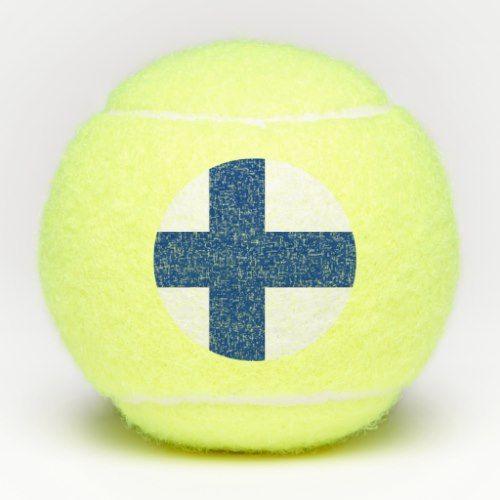 Penn Tennis Ball With Flag Of Finland Zazzle Com Tennis Ball