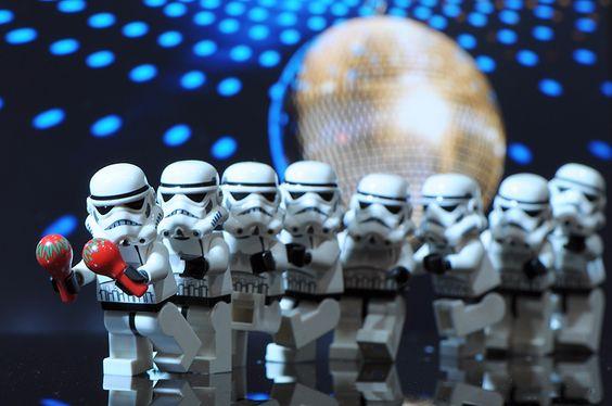 Star Wars, Lego, Storm Trooper,Conga