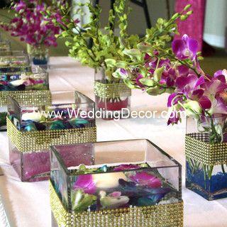 Wedding Centerpieces - dendrobium orchids by WeddingDecor, via Flickr