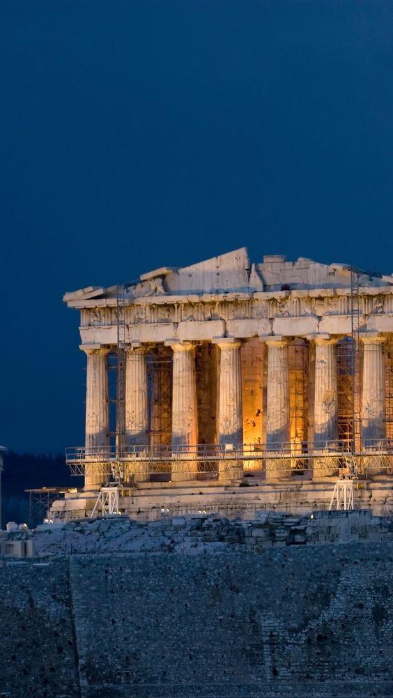 El Partenon, Atenas, Grecia