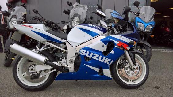 2001 Suzuki GSXR 600 Just arrived :)