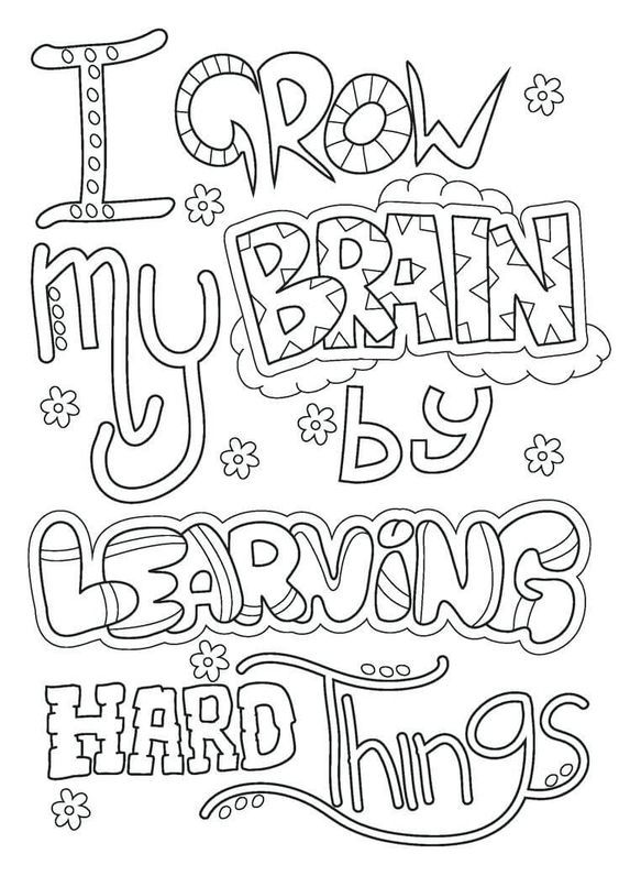 Free Growth Mindset Coloring Pages Pdf Growth Mindset Classroom Teaching Growth Mindset Growth Mindset Quotes