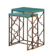 End Tables - Top Material: Metal-Mirrored, Price: | Wayfair