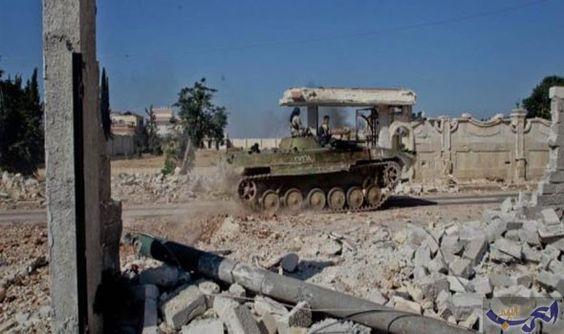 """معارك عنيفة في منطقة الملاح و""""داعش"""" يسيطر…: تستمر المعارك العنيفة بين القوات الحكومية ومسلحي المعارضة في الريف الشمالي لمحافظة حلب شمالي…"""