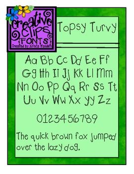 FREE Font! Cute and whimsical but still easy for students to read. Capital letters have little curly details if you look close :)