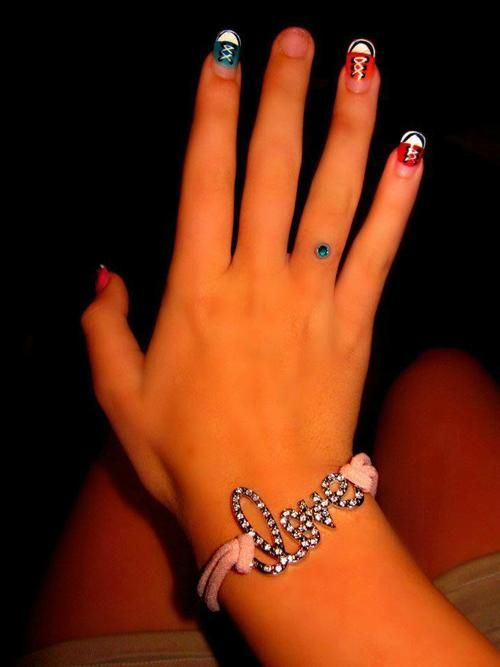 microdermal ring :) always wanted one