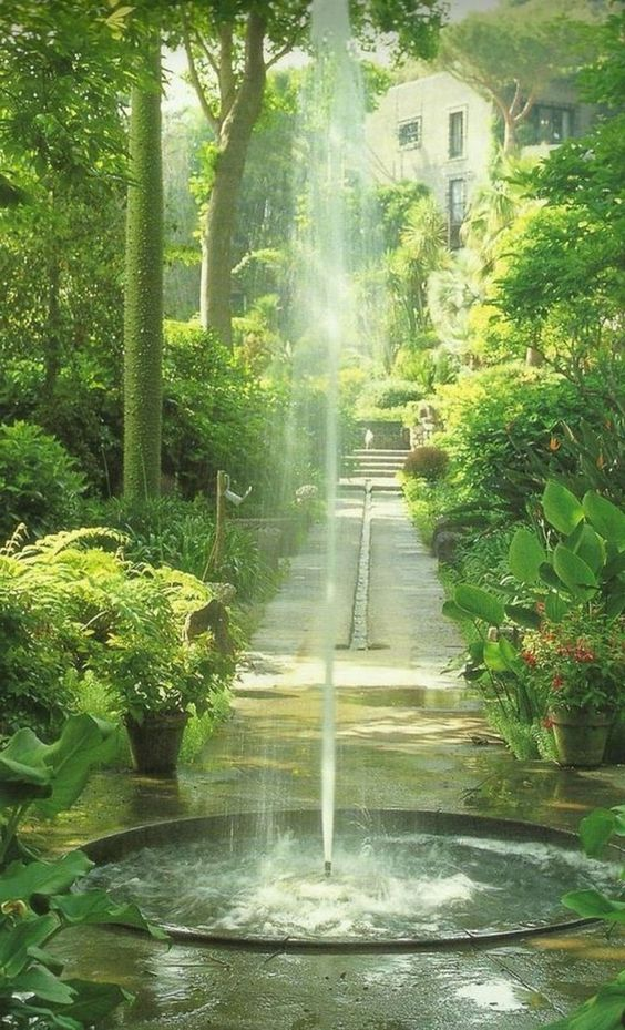 35 Good Zen Water Fountain Ideas for Garden Landscaping #waterfountains #ideas #gardenlandscaping