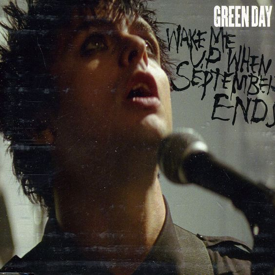 Green Day – Wake Me Up When September Ends (single cover art)
