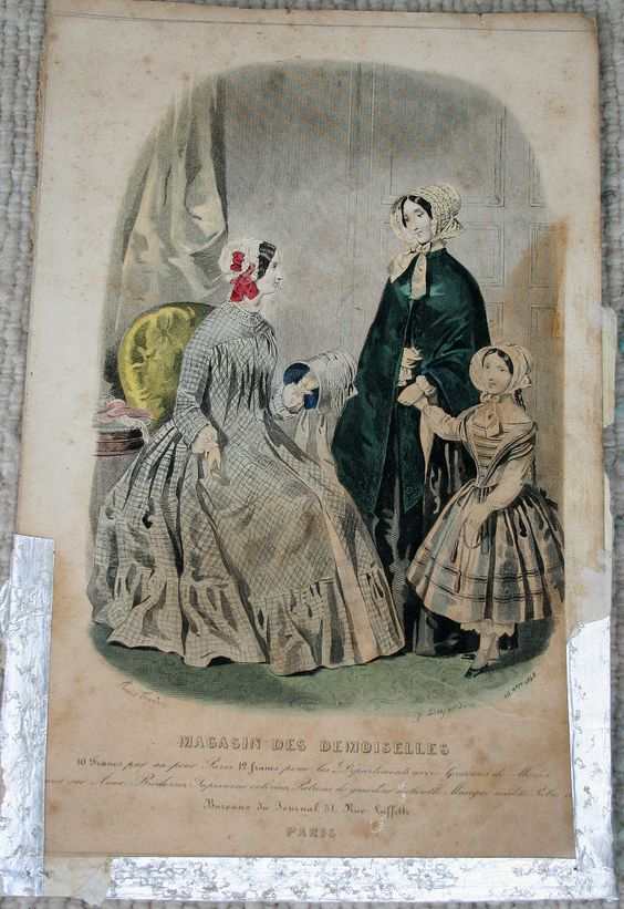 1848 wrapper fashion plate
