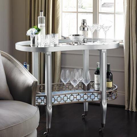 Dean Martini Bar Cart - Caracole Furniture