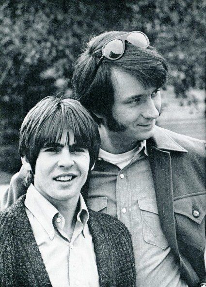 The Monkees: Davy Jones and Mike Nesmith, 1969 #inductthemonkees