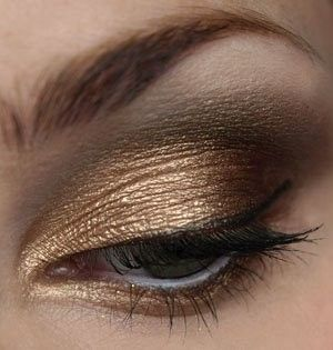 Neutral + Metallic Gold Tones eye (beautiful for summer)