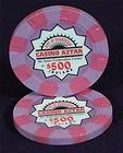 20 - $500 Casino Aztar Paulson poker chips Secondary Set - http://collectibles.goshoppins.com/casino/20-500-casino-aztar-paulson-poker-chips-secondary-set/