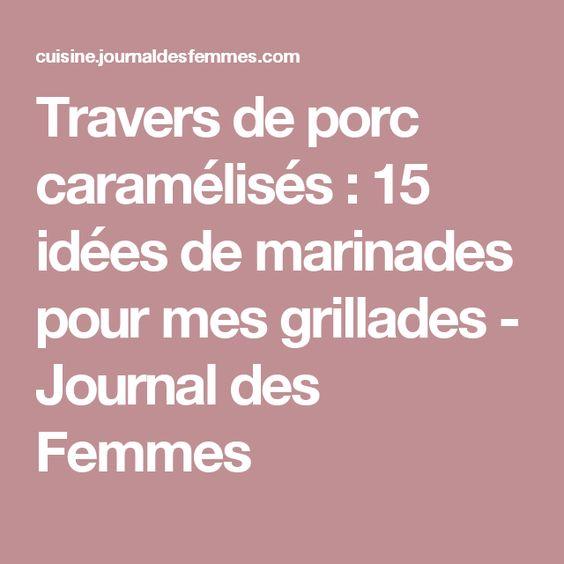 Travers de porc caramélisés : 15 idées de marinades pour mes grillades - Journal des Femmes