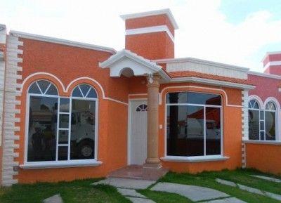 Colores de casas bonitas bello casas pinterest for Casas sencillas pero bonitas