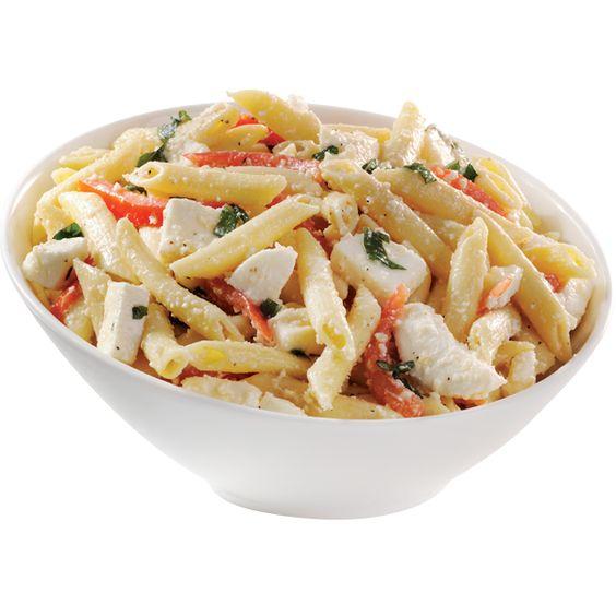 ... | Pinterest | Tomato Basil Mozzarella, Penne Pasta and Mozzarella