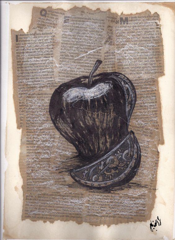 clockwork_apple_illustration, journal_ON SALE