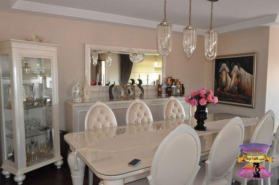 غرف سفره كامله مودرن 2021 Modern Dining Rooms Classic Living Room Design Modern Dining Room Classic Living Room