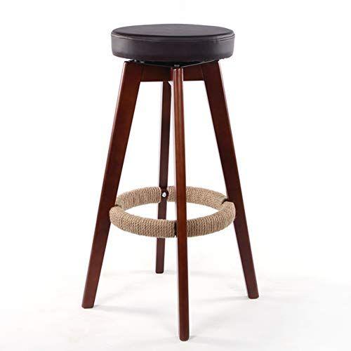 Or Dk Modern Bar Stools Kitchen Breakfast Round Wood Barstool