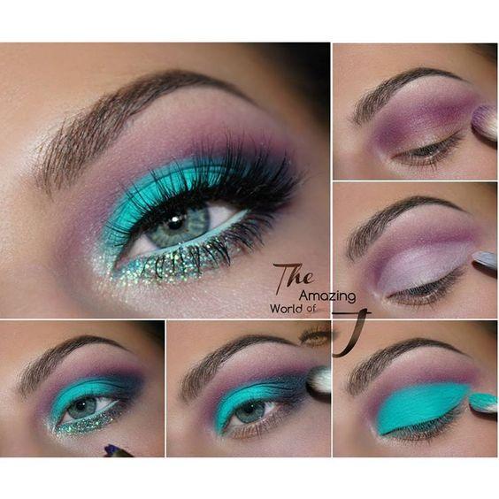 Gel Liner in Zulu -Eye Kandy Cosmetics Glitter in Twizzle Stick -Huda Beauty Mink lashes Raquel