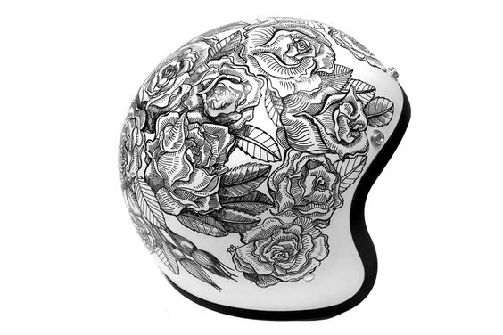 Rose Helmet from Custom Lids