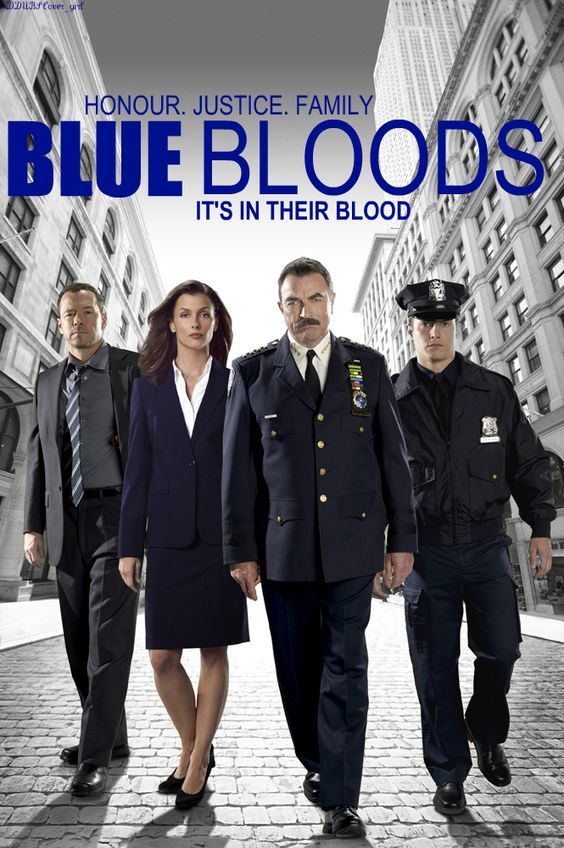 BLUE BLOODS  Anyone else think Tom Selleck just keeps gettin' better and better? This is a GREAT show. The characters are wonderful, as are their interactions. Especially love the Sunday dinner scenes.