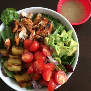 Sriracha Lime Chicken Chopped Salad