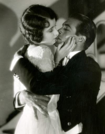 1928 Fay Wray & Gary Cooper in The First Kiss--l'esprit swing's