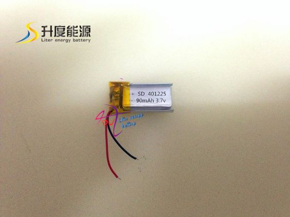 $12.89 (Buy here: http://appdeal.ru/74e7 ) Free shipping - SD401225 401225 small capacity li-polymer 3.7v 90mah polymer lithium battery for just $12.89