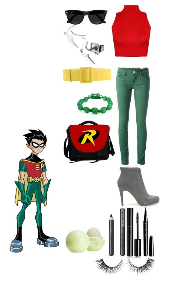 """""""Robin"""" by geekyandnerdyfashion ❤ liked on Polyvore featuring M Missoni, WearAll, FAUSTO PUGLISI, Bling Jewelry, Ray-Ban, Chanel, Marc Jacobs, Burberry, Eos and Rimini"""