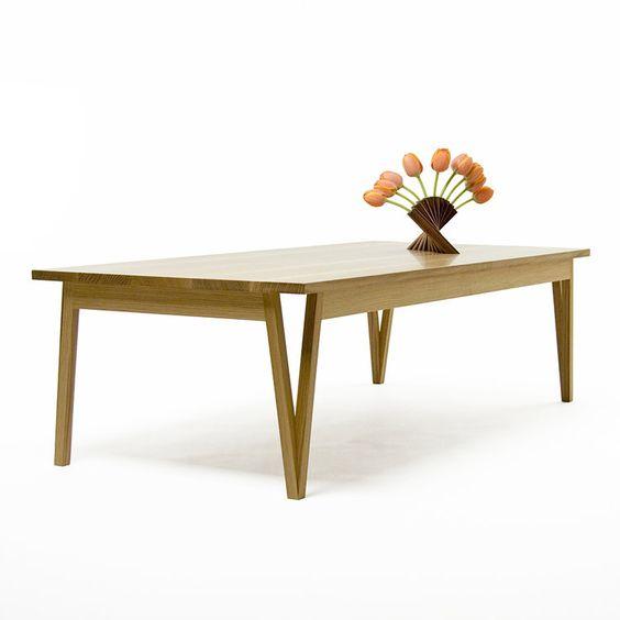 handcrafted modern wood furniture Austin Texas — Leslie Webb Design