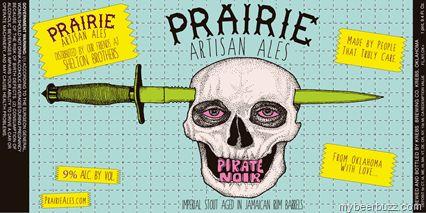 Krebs Brewing / Prairie Artisanal Ales - Pirate Noir